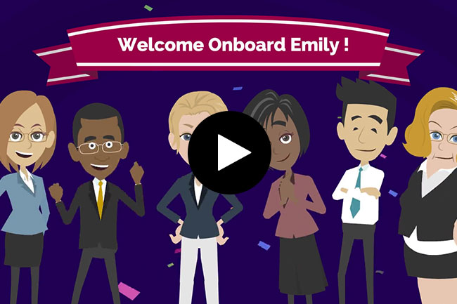 Onboarding d'Emily, Chef de Projets chez Softcorp